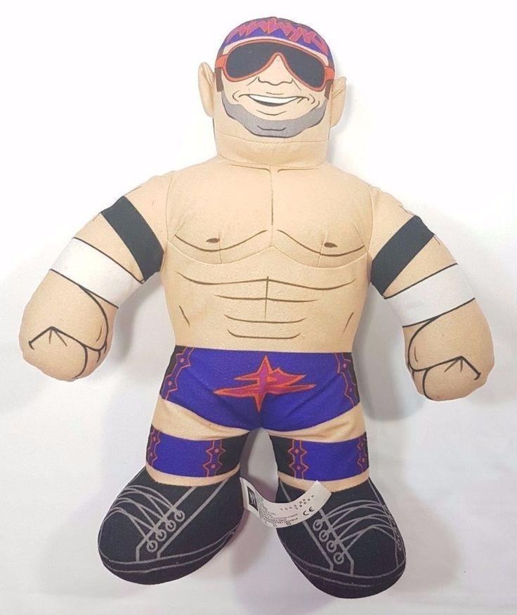 "Zack Ryder Zack Attack Brawlin' Buddy 16"" Wrestling WWE Talking Plush Toy #WWE #Wrestling #Wraslin #ZackRyder #ZackAttack #Wrestler #Plush #Stuffed #Toy #Talking"