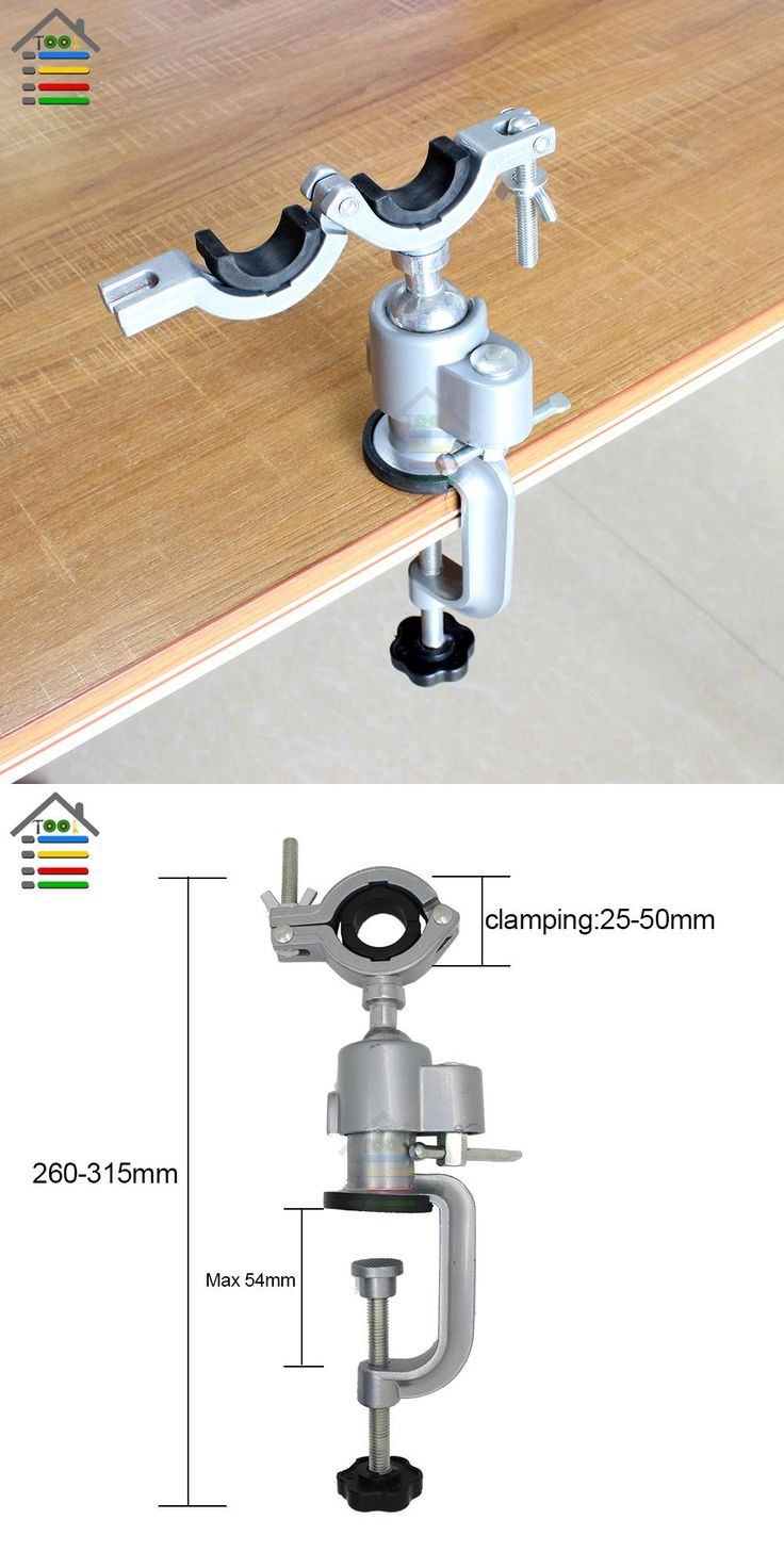 [Visit to Buy] AUTOTOOLHOME Clamp-on Bench Vises Holder fit Mini Electric Drill Stand Grinder Bracket for Dremel 3000 Woodworking Accessories  #Advertisement