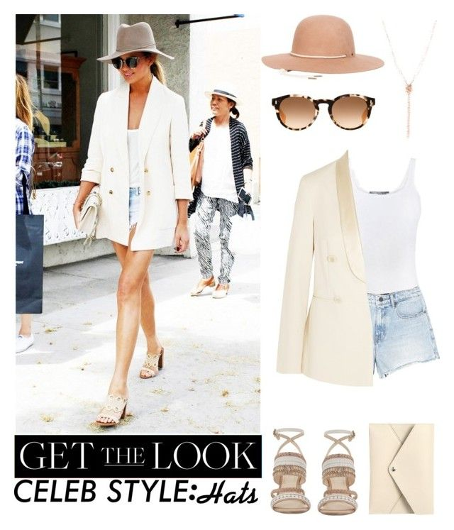 """""""Celebrity Style: Hats~ Chrissy Teagan"""" by umarijan ❤ liked on Polyvore featuring Vince, Alexander Wang, Brunello Cucinelli, Fendi, Emily & Ashley, Louis Vuitton, Nine West, Herschel Supply Co., GetTheLook and hats"""