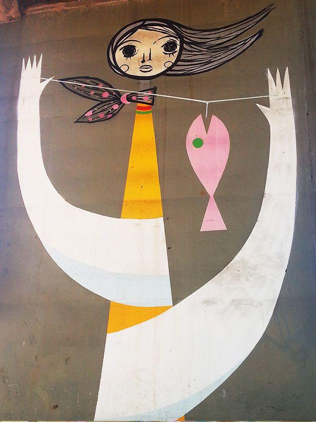 Street art | Mural (MAAU 2010, São Paulo, Brazil) by Speto