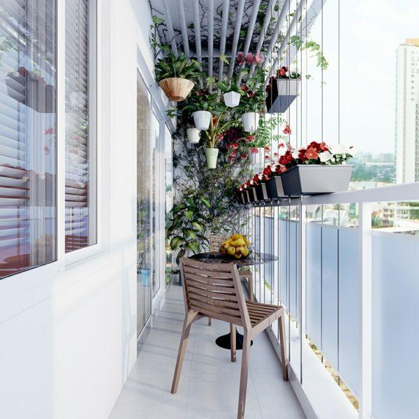 Balkon schmal hängend Pflanzen Geländer Blumenkästen | Милые Идеи ...