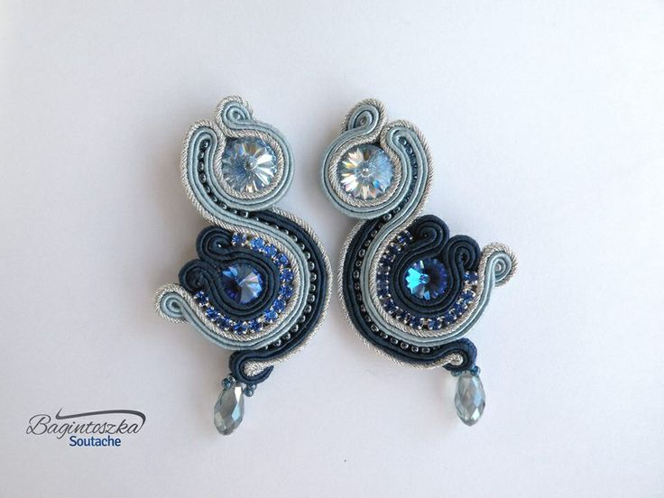 New Blue Soutache Earrings