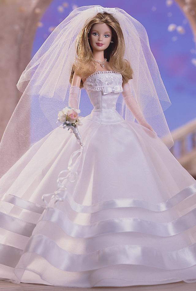 Best 25 Barbie Wedding Dress Ideas On Pinterest