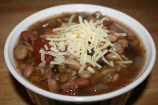 A Year of Slow Cooking: CrockPot 16 Bean Soup Recipe