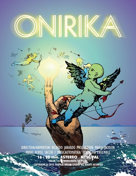 ONIRIKA - Best of the short film. Played at WILDsound's August 2013 event