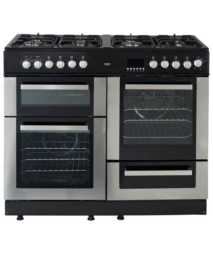 Freestanding Range Cookers Uk Part - 26: Buy Bush BCYU100DFSS Dual Fuel Range Cooker- S/Steel At Argos.co.