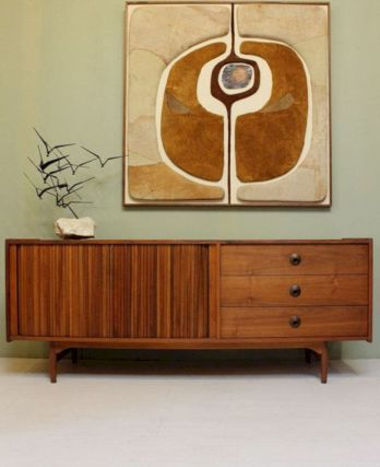 62 Inspiring Painted Mid Century Modern Furniture Ideas
