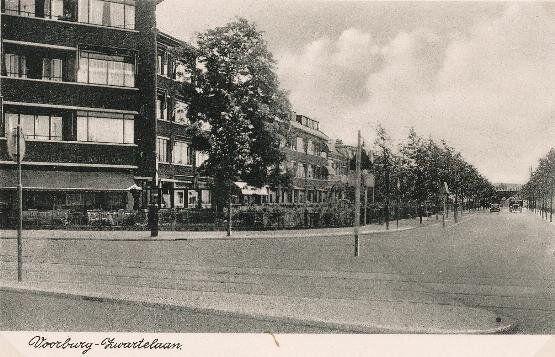 Twitter / Voorburginfo: De #Zwartelaan te #Voorburg ... 1938