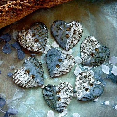 Sharilyn Miller: NEW Handmade Ceramic Buttons!