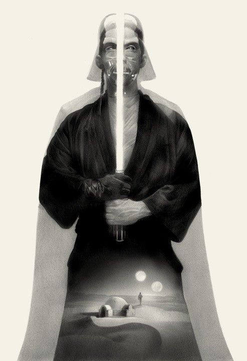 2 Skywalkers & a Vader by Greg Ruth