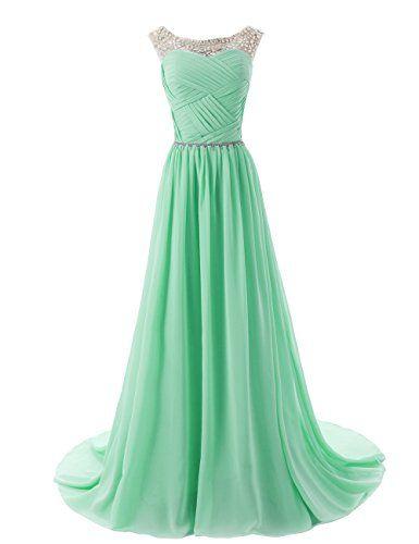 Dressystar Beaded Sleeveless Bridesmaid Dresses Prom Gown with Beads Embellished Waist Size 2 Mint Dressystar http://www.amazon.com/dp/B00KVS34IQ/ref=cm_sw_r_pi_dp_SoKcub11MP7S7