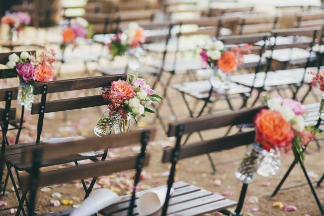 Décoration de chaises de mariage 2017 : des tendances délicates! Image: 3