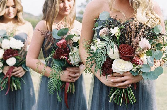 Fall wedding bridesmaids bouquet | Wedding & Party Ideas | 100 Layer Cake
