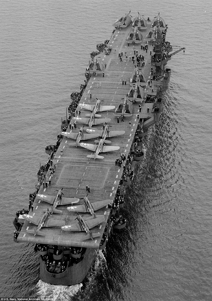 USS Independence, 1943.