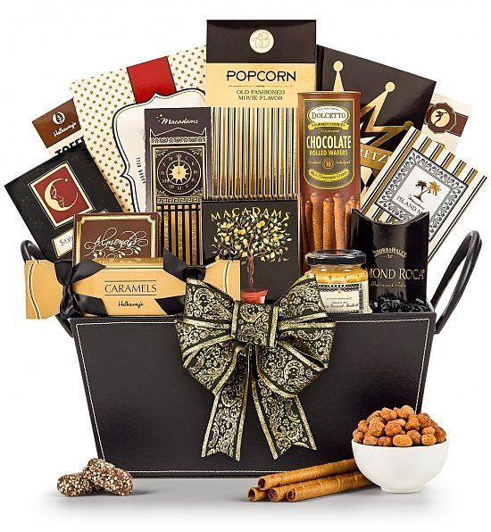 15 best special boxes images on pinterest gourmet gifts gifts elegant offerings gift basket negle Images