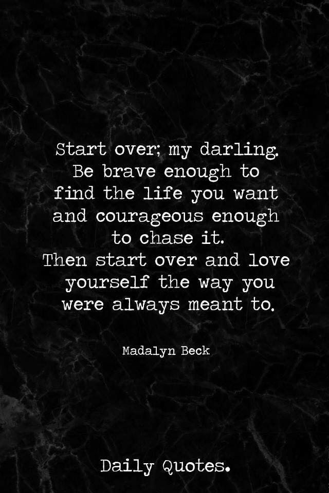 Starting Over A New Chapter Pinterest Quotes Inspirational
