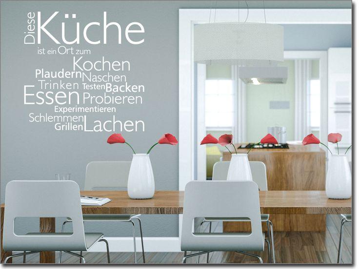 wandtattoo k che selbst gestalten reuniecollegenoetsele. Black Bedroom Furniture Sets. Home Design Ideas