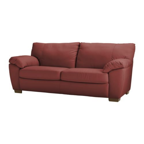 25 best ideas about leather sofa bed ikea on pinterest scandinavian coffee table sets - Ikea red leather sofa ...