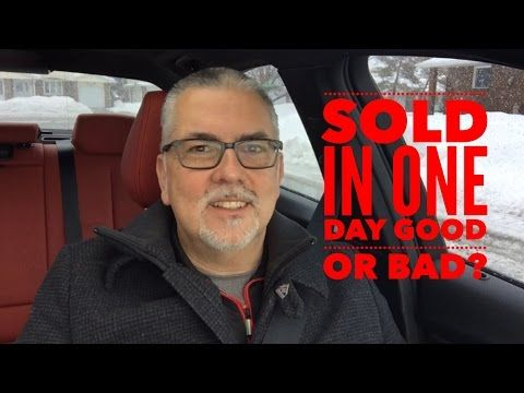 Your house SOLD in one day - glad or sad? - Ottawa Real Estate - Homes for sale