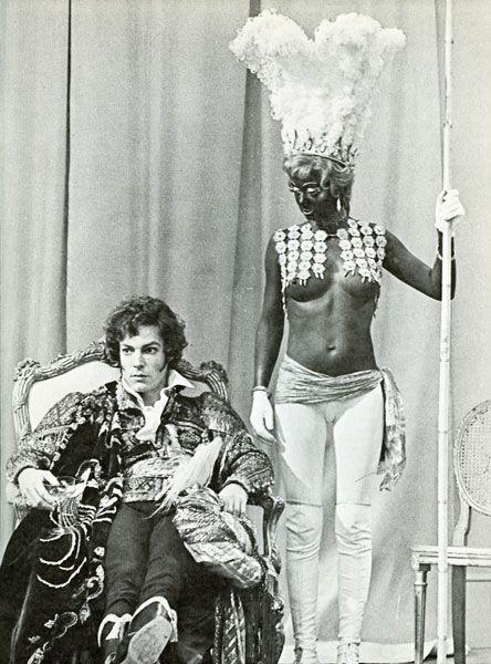 Richard Chamberlain as   Lord Byron in  Lady Caroline Lamb (1973)