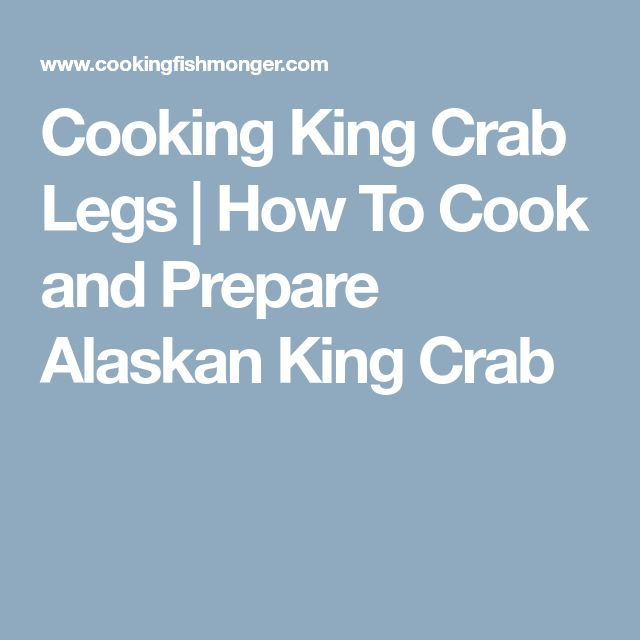 how to cook frozen crab legs