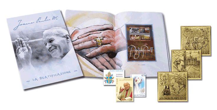 La collezione della beatificazione di Papa Wojtyla