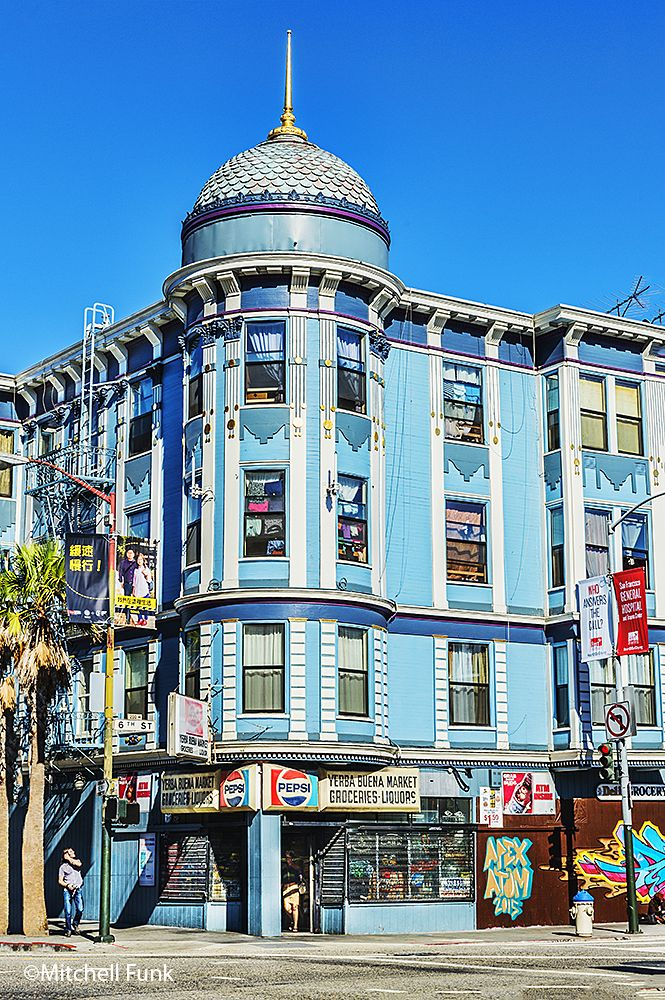 Beautiful Architecture In The Tenderloin, San Francisco By Mitchell Funk   mitchellfunk.com