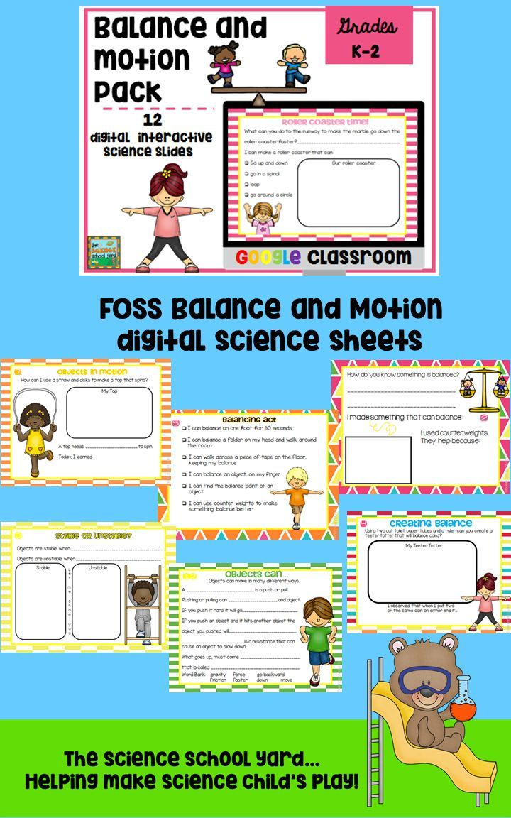 Working with a balance and motion kit or NGSS standards and need to add digital sheets to your science lessons? Trying to save on your paper budget? Using iPads or computers and need to integrate ways to use them in your classroom? Here is a great resource to use to have your learners interacting with their slides. Have them add pictures, videos, voice recordings and more to add digital science to your day!  This pack includes 12 different graphic organizers and more!
