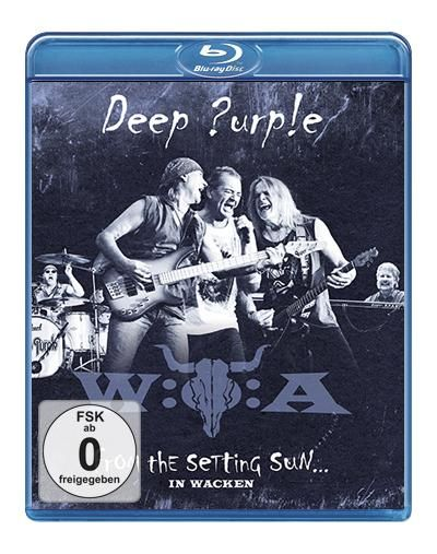 "Disco Blu-ray dei #DeepPurple intitolato ""From the setting sun... (in Wacken)""."