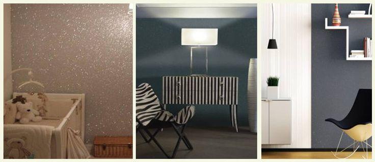 Pintura metalizada con brillantinas para dar luz a sus paredes. http://lacasadepinturas.com/…/pintura-metalizada-con-brill…/