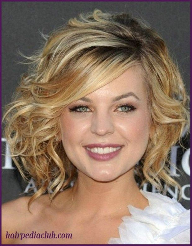 5 Short Haircuts For Thick Hair And Round Faces // | Curly hair ...