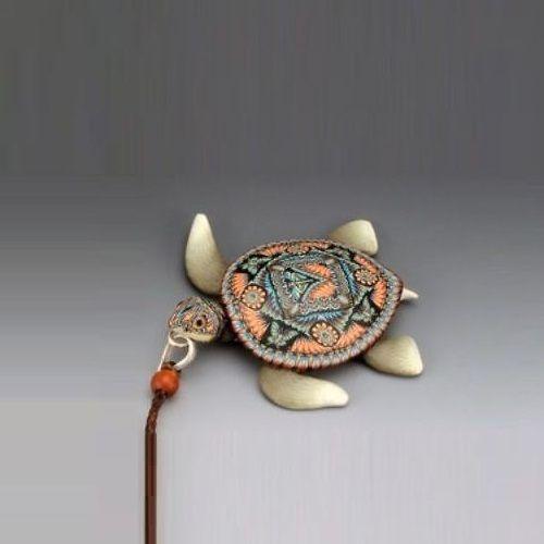 Sea Turtle Necklace | Pendant | Clay | FimoCreations