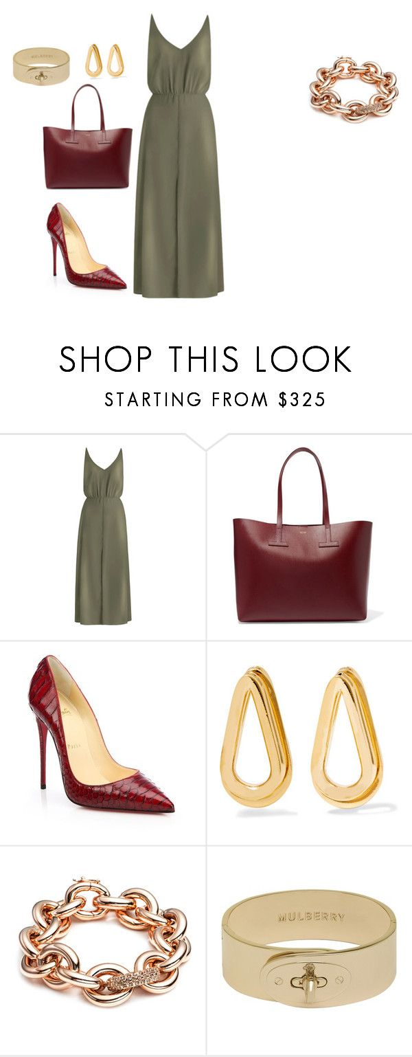 """""""style theory by Helia"""" by heliaamado on Polyvore featuring moda, Zimmermann, Tom Ford, Christian Louboutin, Annelise Michelson e Eddie Borgo"""