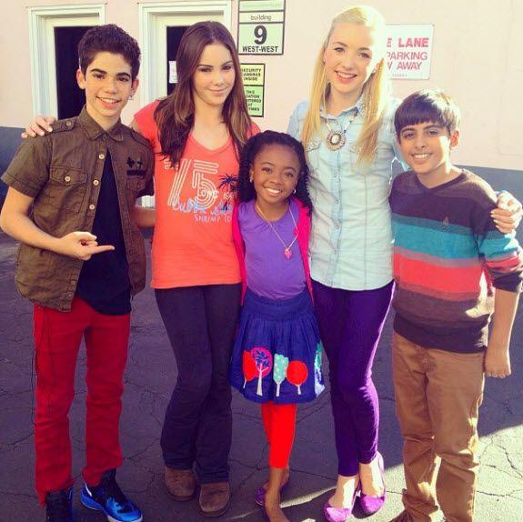 """""""Jessie"""" Cast Meets McKayla Maroney January 17, 2013"""