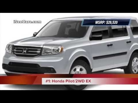 Top 5 Cheapest 8-Seater SUVs of 2013 Video http://blog.iseecars.com/2013/04/26/video-top-5-cheapest-8-seater-suvs-of-2013/
