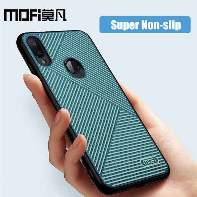 For Xiaomi Redmi Note 7 Case Liquid Silicone Back Cover Cloth Anti Knock Business Phone Cases Mofi Original Note7 Pro Case Review Phone Cases Phone Case