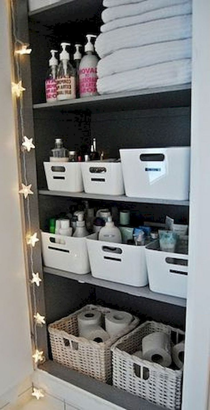 40 Awesome DIY Bathroom Organization and Storage Ideas