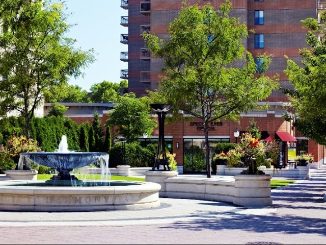 Dunton Tower Apartments Arlington Heights Il