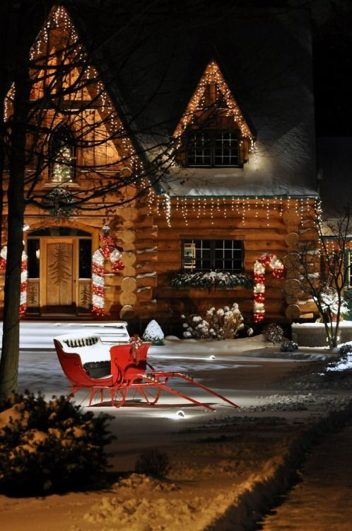 Best Log Cabin Christmas Ideas On Pinterest Cabin Christmas - Christmas cabin fireplace scenes