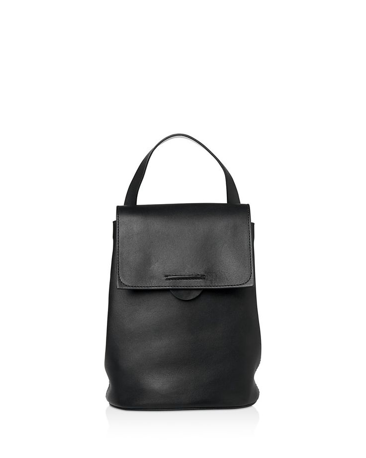 WHISTLES Whistles Broadwick Mini Leather Backpack. #whistles #bags #leather #lining #backpacks #cotton #
