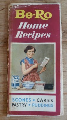 Be-Ro cookbook, this was the book we used at school in domestic science class. Had the best recipe for doughnuts which I used to make for Mum and Dad at the weekends <3