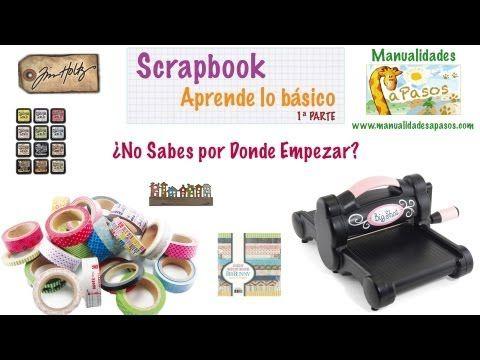 Material para Scrapbook Tipos de Sellos y Tintas *Scrapbook Tutorial* Scrapbook Review Pintura Facil - YouTube