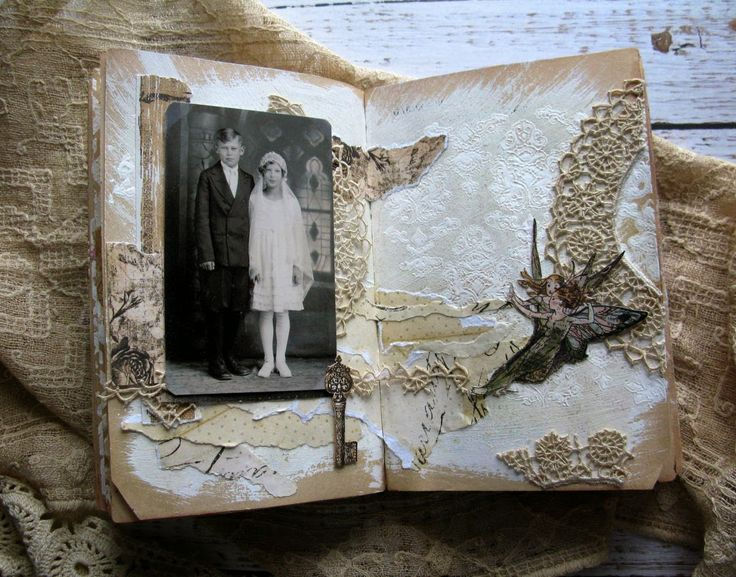 The Remembering Garden: Altered Book