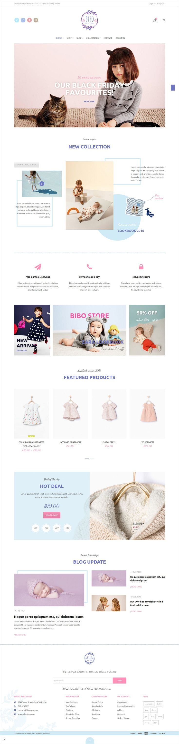 Bibo #baby store is a wonderful responsive #WooCommerce #WordPress theme for amazing eCommerce websites with multiple homepage layouts download now➩ https://themeforest.net/item/bibo-baby-store-woocommerce-theme/19014302?ref=Datasata