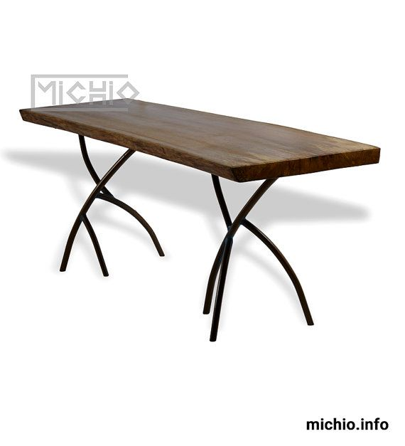 rustic wood dining table solid wood dining tables by Michiodecor