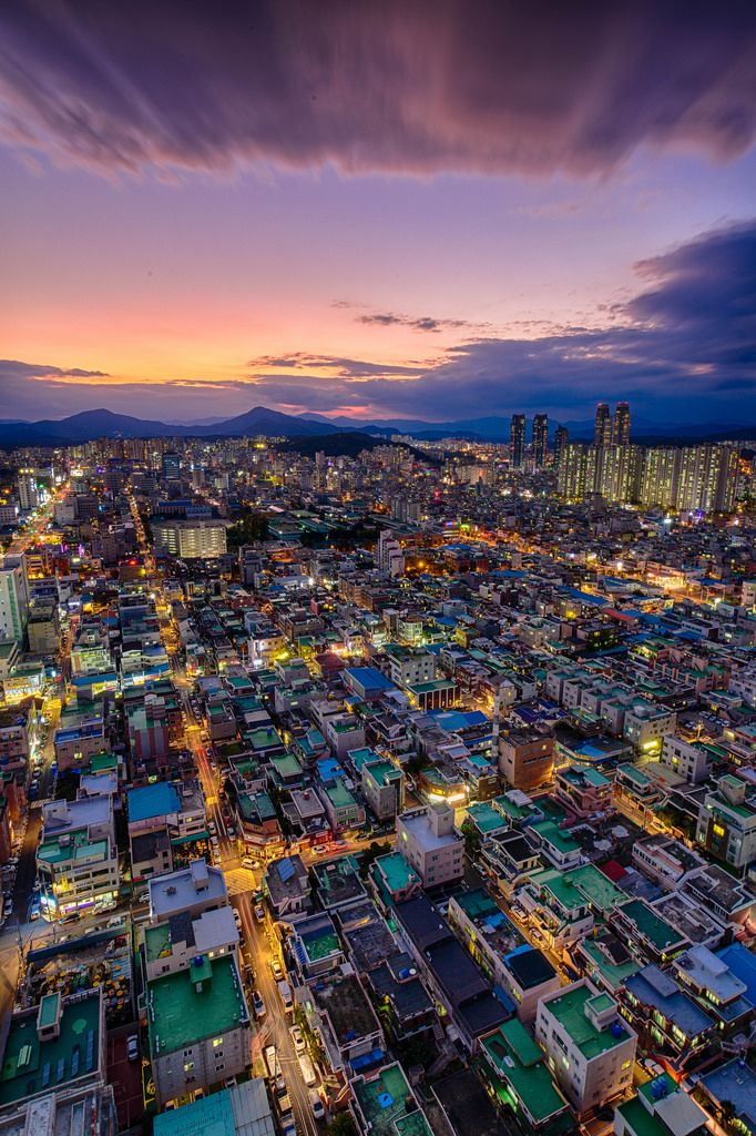 ✿ ❤ South Korea, Ulsan Sunset by Jason Teale