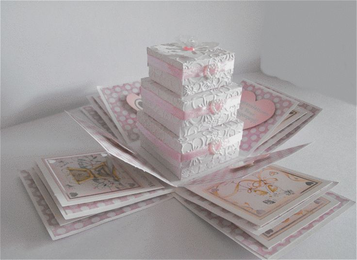 how to make a box out of card template