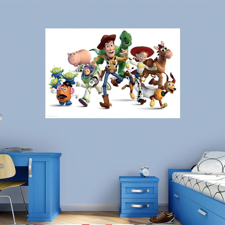 Fathead Toy Story Cast Wall Mural   74 74544 Part 75