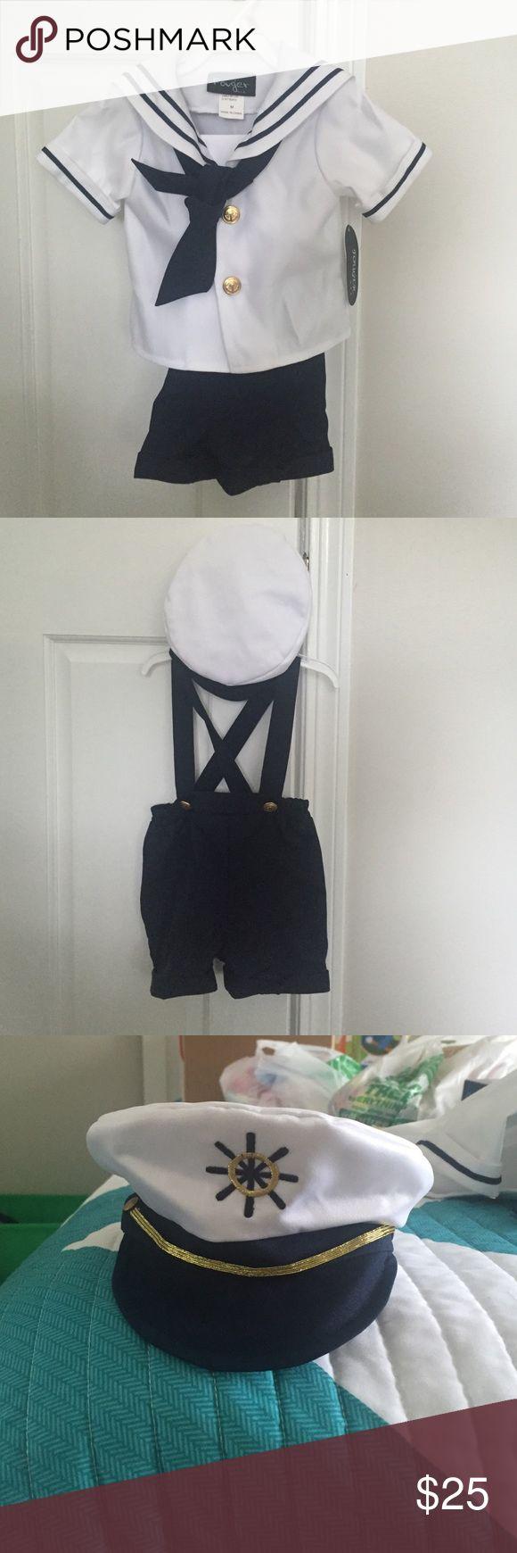 Sailor Halloween Costume Size: Medium, brand new/never worn Costumes Halloween