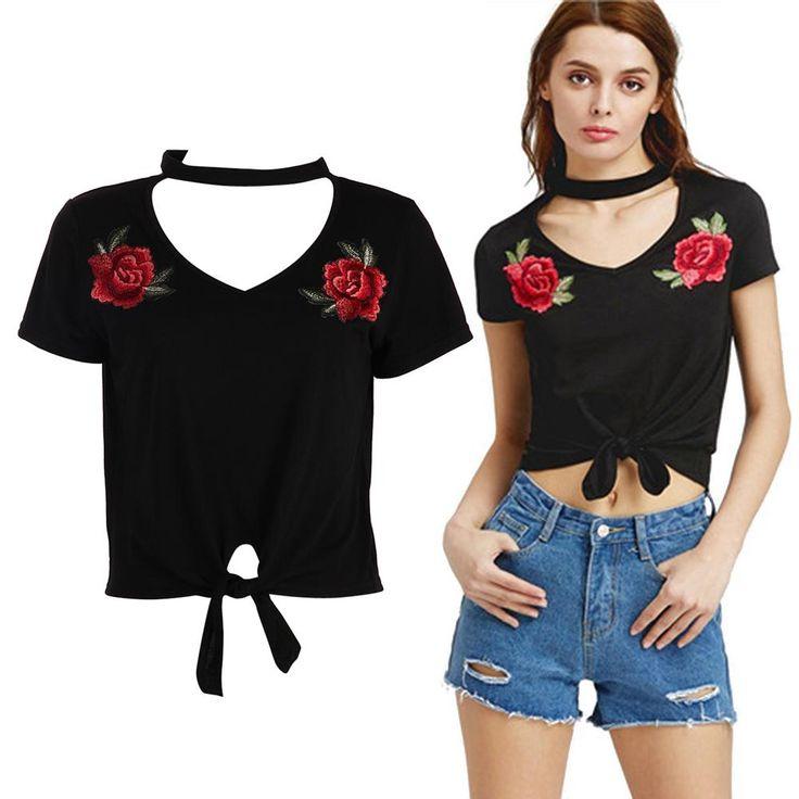 Women's Craque cop trendy Tee Shirt cr